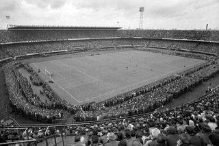 Historisch Rotterdam Feyenoord Rotterdam, Stadion de Kuip 1960, Harry Mosch