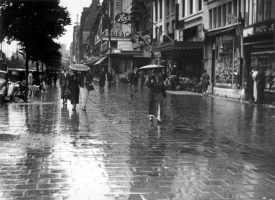 Historisch Rotterdam, Coolsingel 1930, Stadsarchief
