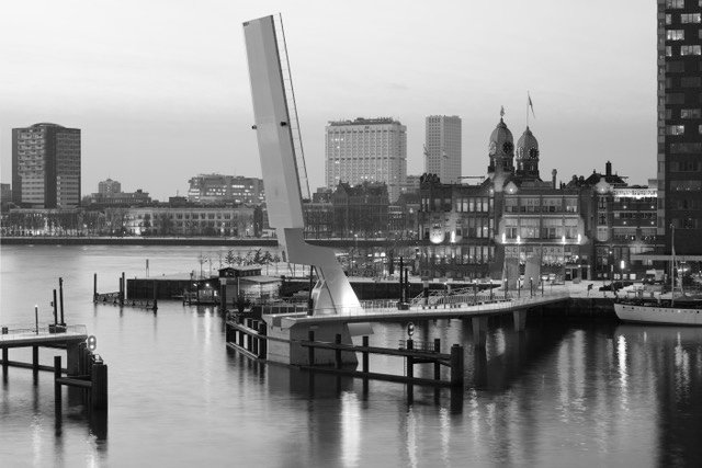 Modern Rotterdam Kop van Zuid met de Hoerenloper 2017, Ossip van Duivenbode