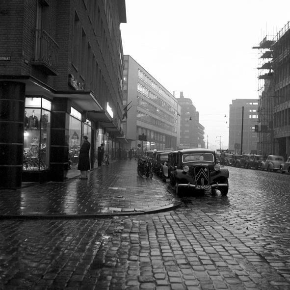 Historisch Rotterdam, De Meent 1955, Vrije Volk