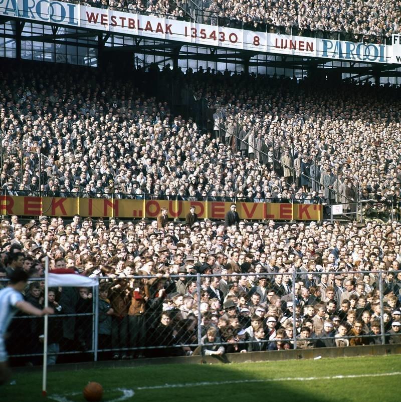 Rotterdam, Feyenoord Stadion de Kuip 1960, Spaarnestad Photo