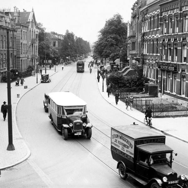 Historisch Rotterdam, Nieuwe Binnenweg 1935, Vrije Volk
