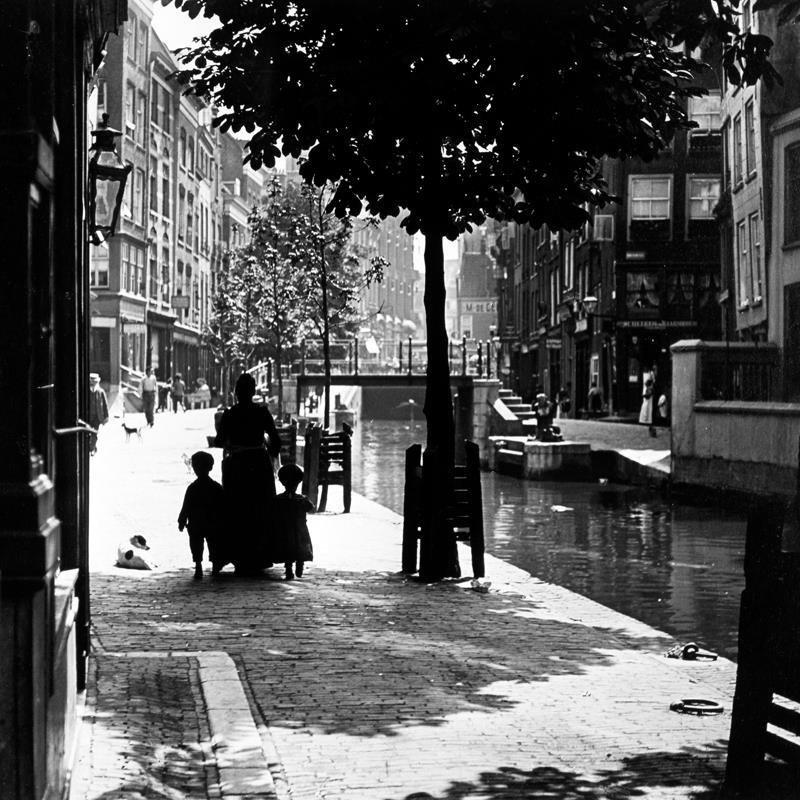 Historisch Rotterdam, Delftsevaart 1905, Henri Berssenbrugge