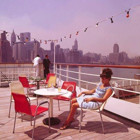 Historisch Rotterdam, SS Rotterdam in New York 1967, Harry Mosch