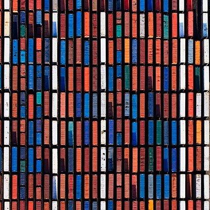 Abstract Rotterdam,  Containers VI, Huib Nederhof