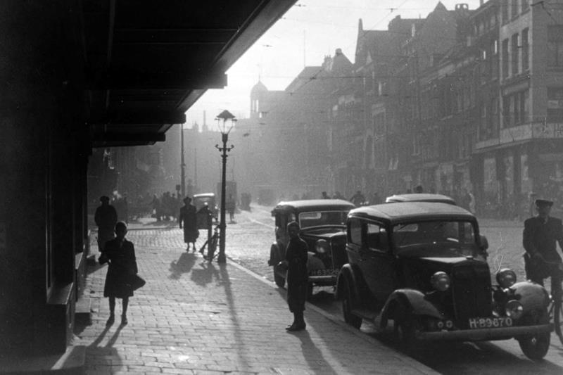 Historisch  Rotterdam, Botersloot 1930, Stadsarchief Rotterdam