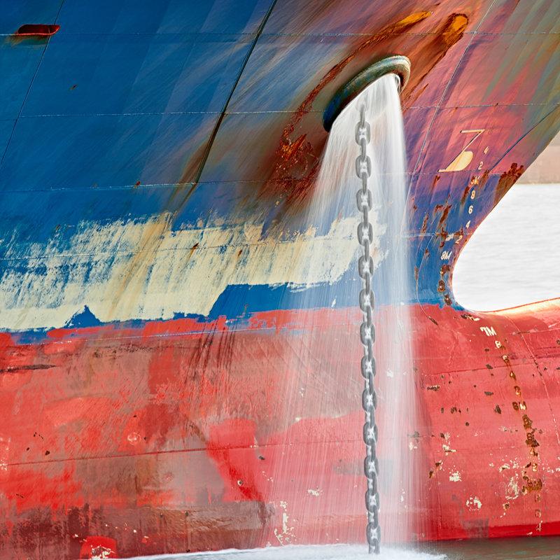 Abstract Rotterdam,  Boeg VIII, Huib Nederhof