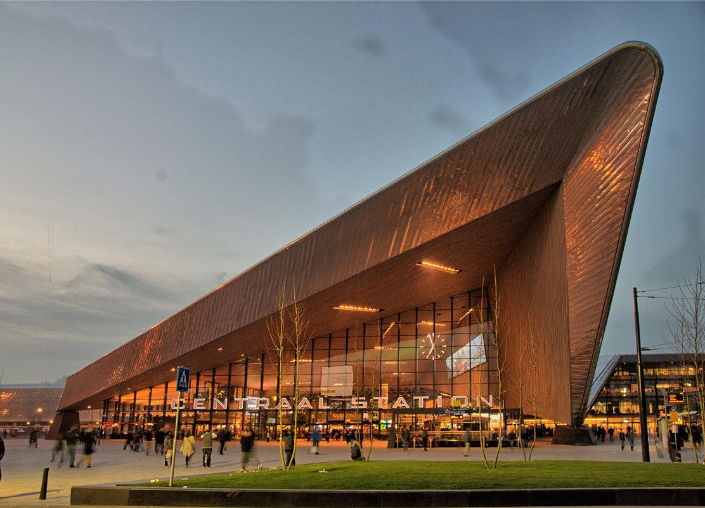 Modern Rotterdam, Centraal Station, Stationsplein 2017, Ossip van Duivenbode