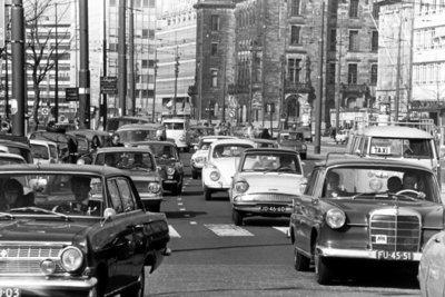 Historisch Rotterdam Coolsingel 1969, Lex de Herder