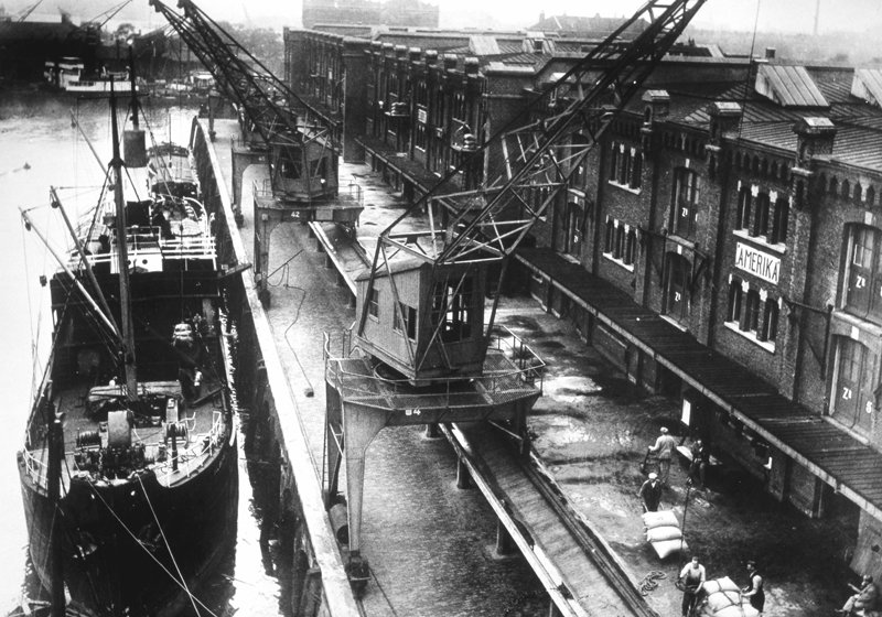 Historisch Rotterdam, Entrepothaven 1935, Stadsarchief