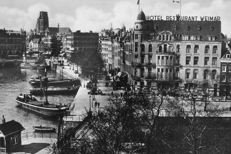 Historisch Rotterdam, Haringvliet Oude Haven 1920, Stadsarchief Rotterdam