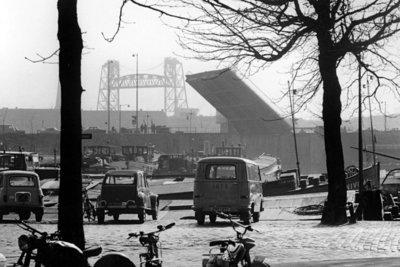 Historisch Rotterdam, Hefbrug 1971, Lex de Herder