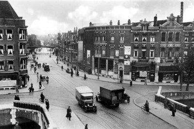 Historisch Rotterdam, Heulbrug, Schiekade 1950, Jan Roovers