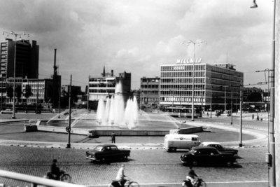 Historisch Rotterdam, Hofplein 1960, Lex de Herder