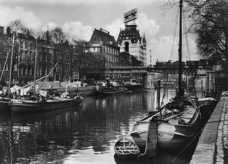 Historisch Rotterdam, Wijnhaven met Witte Huis, Stadsarchief