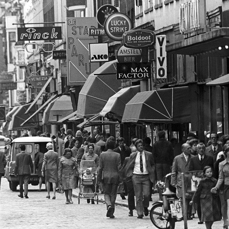 Historisch Rotterdam, Oude Binnenweg 1970, Lex de Herder