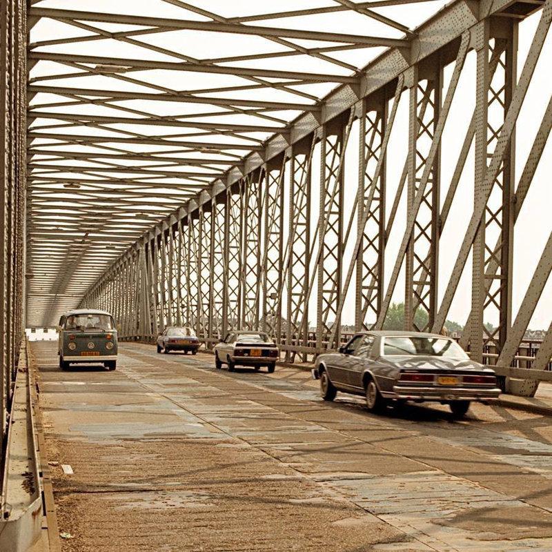 Historisch Rotterdam, Oude Willemsbrug 1981, Stadsarchief