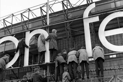 Feyenoord Rotterdam, Stadion de Kuip, 1962, Vrije Volk