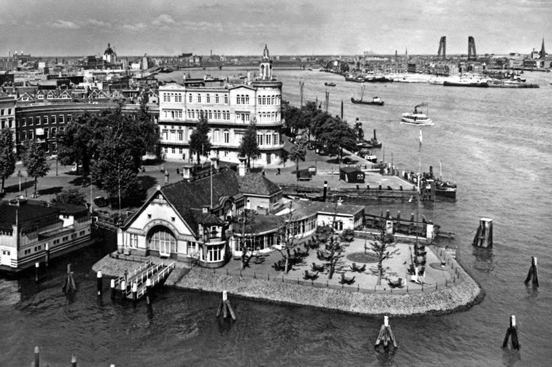 Historisch Rotterdam, Veerhaven, Uitgeverij Voet