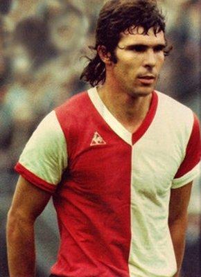 Rotterdam,Feyenoord,  Willem van Hanegem 1971, foto Anefo