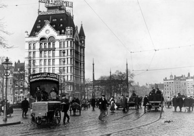 Historisch Rotterdam, Witte Huis 1915, Stadsarchief Rotterdam