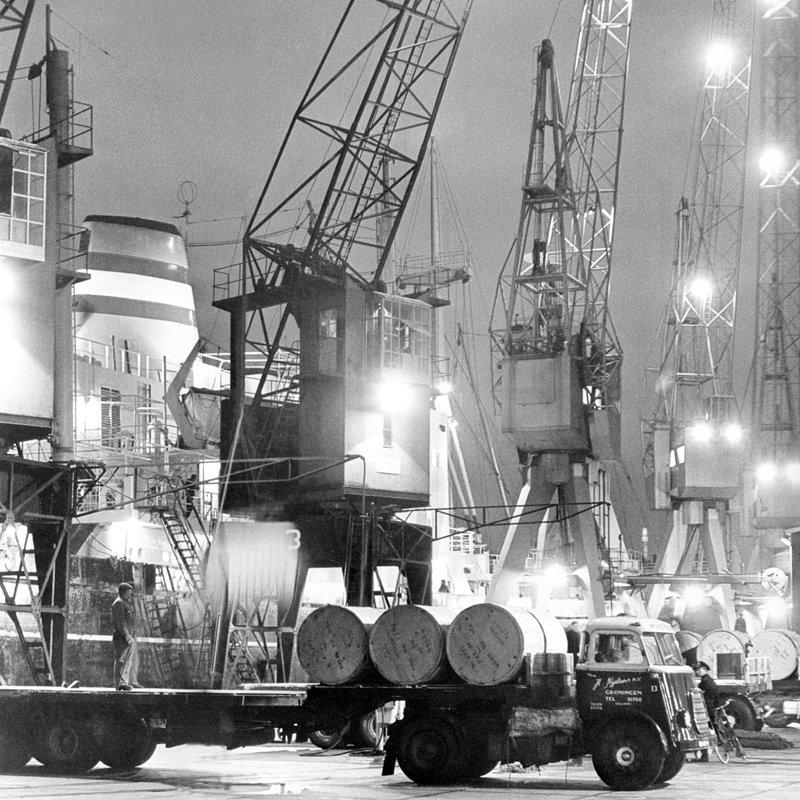 Historisch  Rotterdam, Beatrixhaven 1968, Harry Mosch