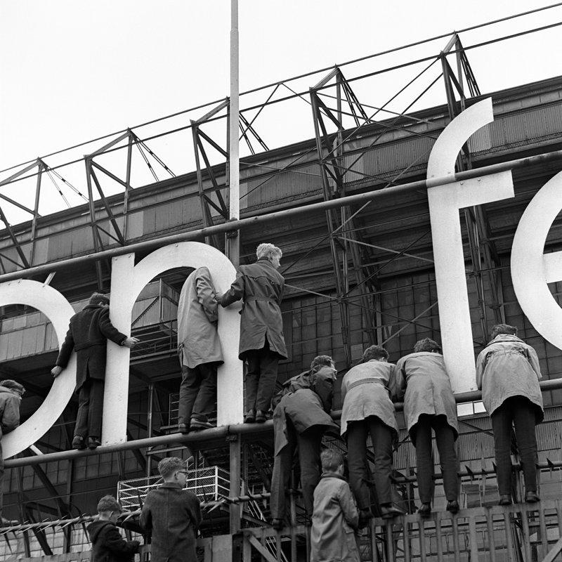 Rotterdam, feyenoord Kuip 1962