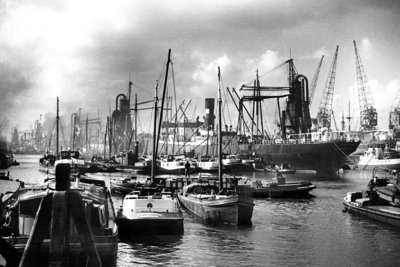 Historisch Rotterdam, Maashaven 1935: Jan Roovers