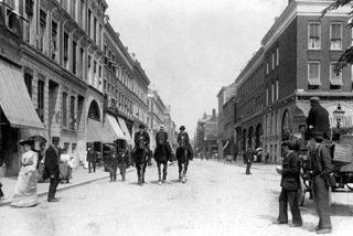 Historisch Rotterdam, Oude Binnenweg 1905, Uitgeverij Voet