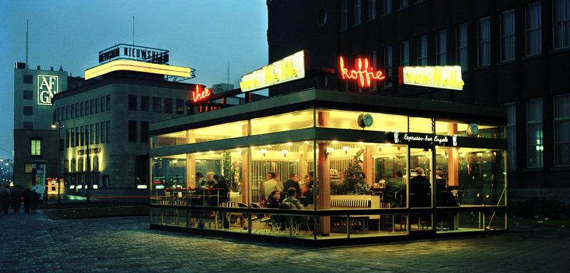 Historisch Rotterdam, Coolsingel Paviljoen Engels 1967,  Harry Mosch