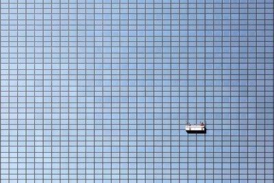 Modern abstract Rotterdam, Nationale Nederlanden, Ossip van Duivenbode