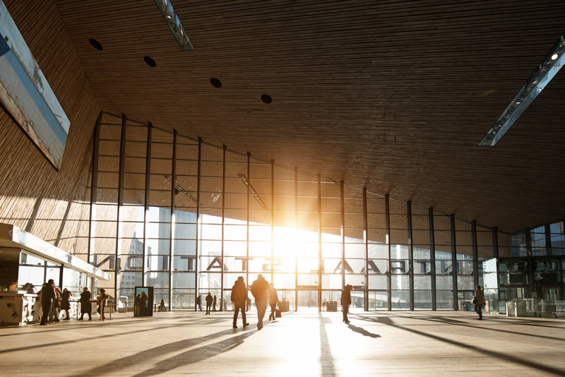 Modern Rotterdam,  Centraal Station 2017 Huib  Nederhof