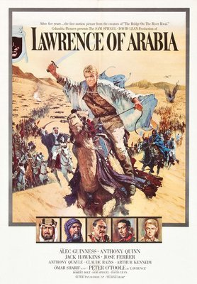 Rest van de wereld, filmposter Lawrence of Arabia