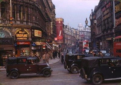 Rest van de wereld, Londen jaren 30 Piccadilly Circus