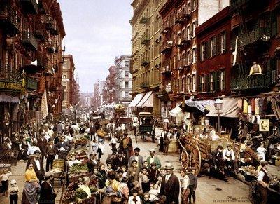 Rest van de wereld, New York 1900 Mulberry Street