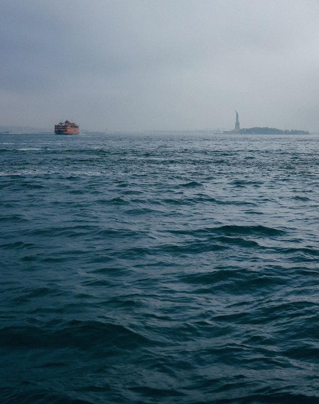 Rest van de wereld,  New York vrijheidsbeeld Scheepvaart
