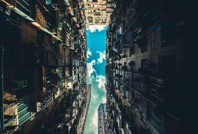 Rest van de wereld,  China gebouwen abstract
