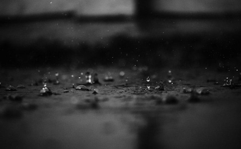 Rest van de wereld,  abstract regen straat