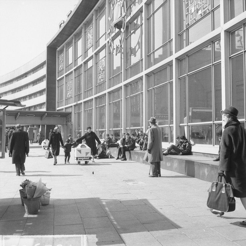 Historisch Rotterdam Centraal Station, Stationsplein