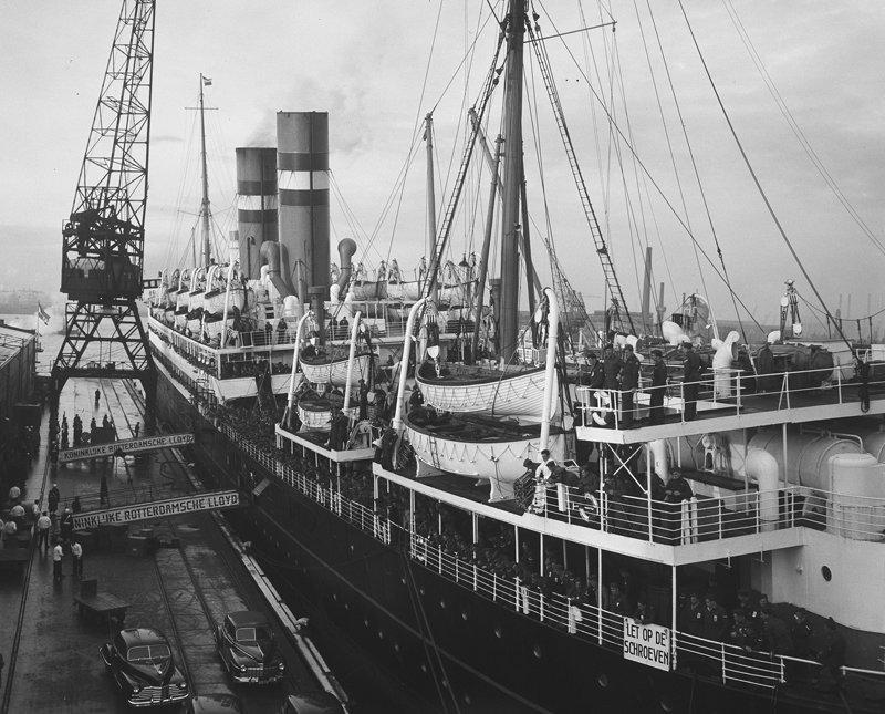 Rotterdam, Schiehaven  1958