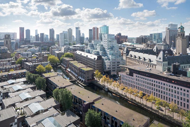 Modern Rotterdam, Centrum panorama  Ossip van Duivenbode