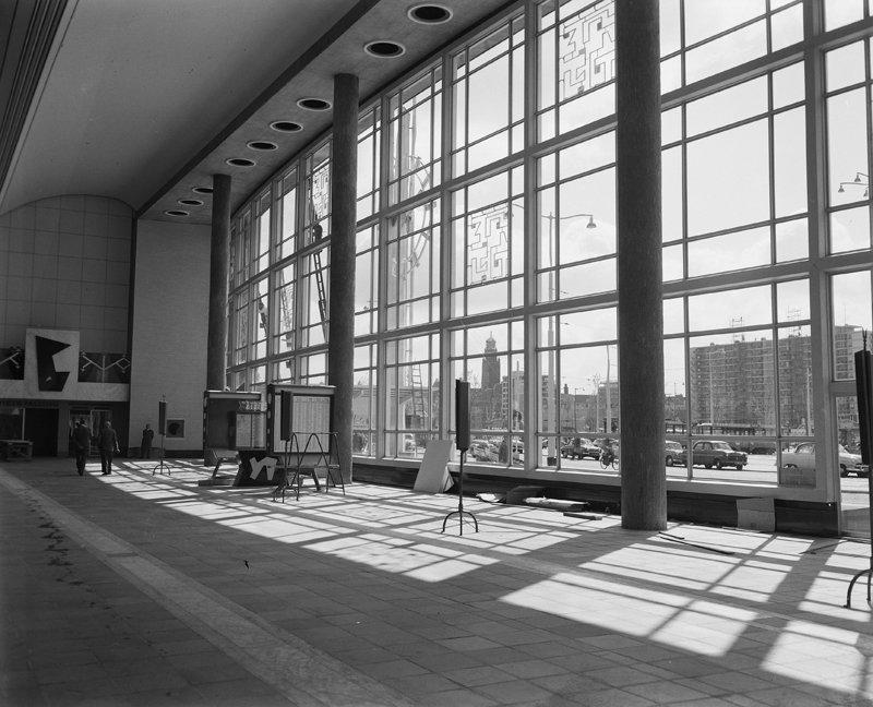 Historisch Rotterdam, Hal Centraal Station 1960  foto: Anefo