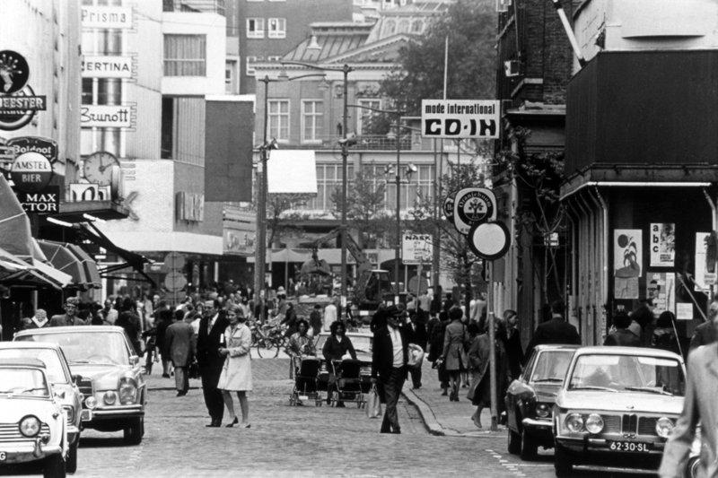 Historisch Rotterdam Binnenwegplein Oude Binnenwegl 1970, Lex de Herder