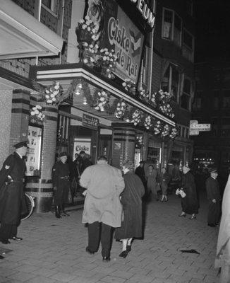 Historisch Rotterdam,  Bioscoop Coloseum 1955 , fotograaf: Anefo