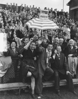 Historisch Rotterdam, Sparta 1959 Kasteel Schietribune , fotograaf: Anefo