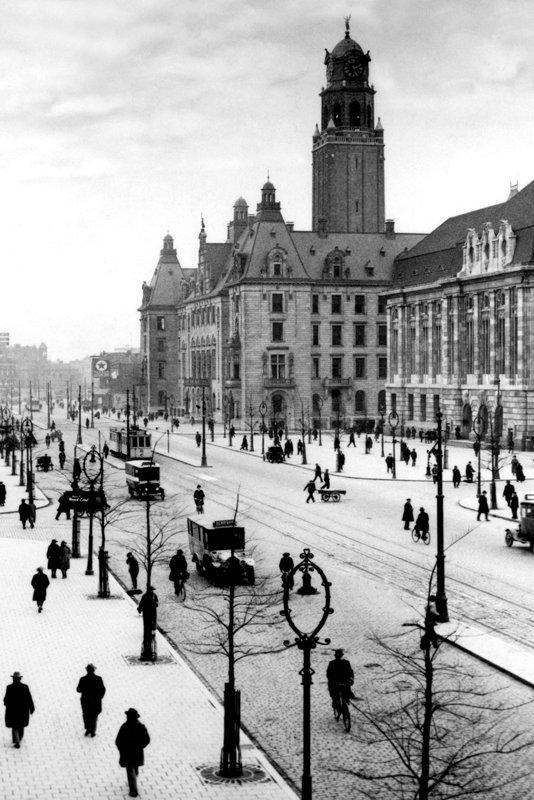 Historisch  Rotterdam, Coolsingel 1925, Stadsarchief Rotterdam