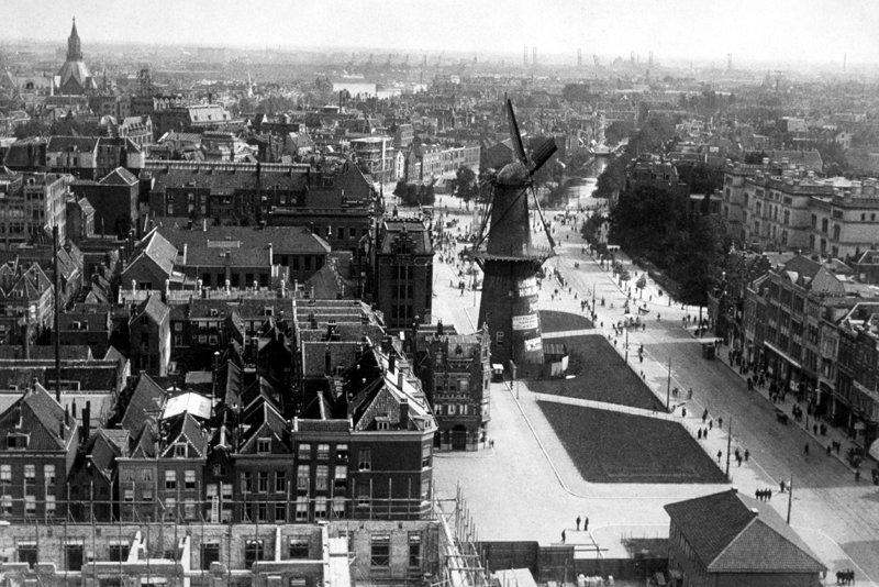 Historisch  Rotterdam, Coolsingel 1915, Stadsarchief Rotterdam