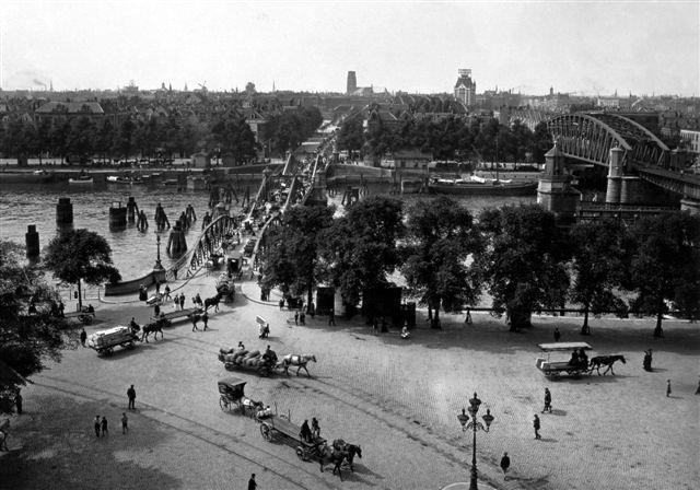 Historisch  Rotterdam, Panorama 1930 Koningshaven , Stadsarchief Rotterdam