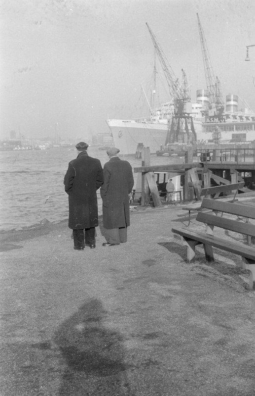 Historisch Rotterdam,  Wilhelminapier Katendrecht 1959 , fotograaf: Anefo
