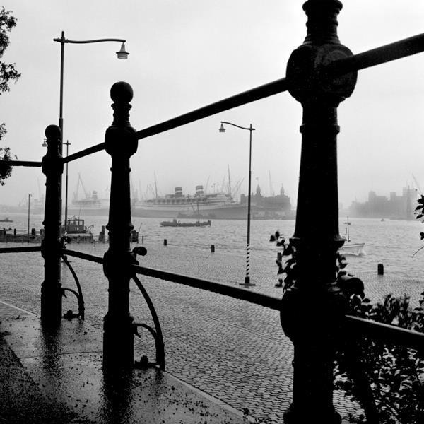 Historisch Rotterdam, Parkkade met Wilhelminapier 1955, Stadsarchief